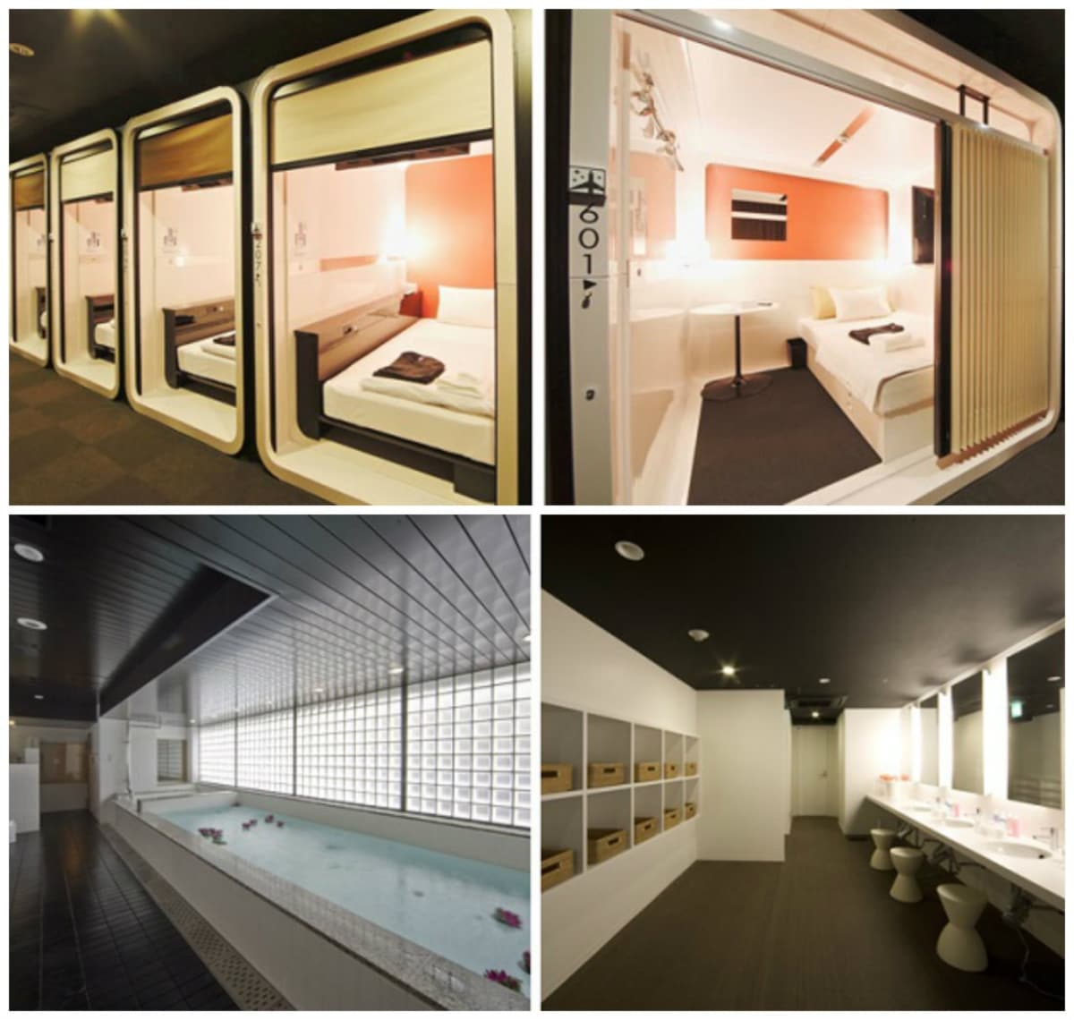 Amazing capsule hotels around the world all about japan for Cabin hotel tokyo