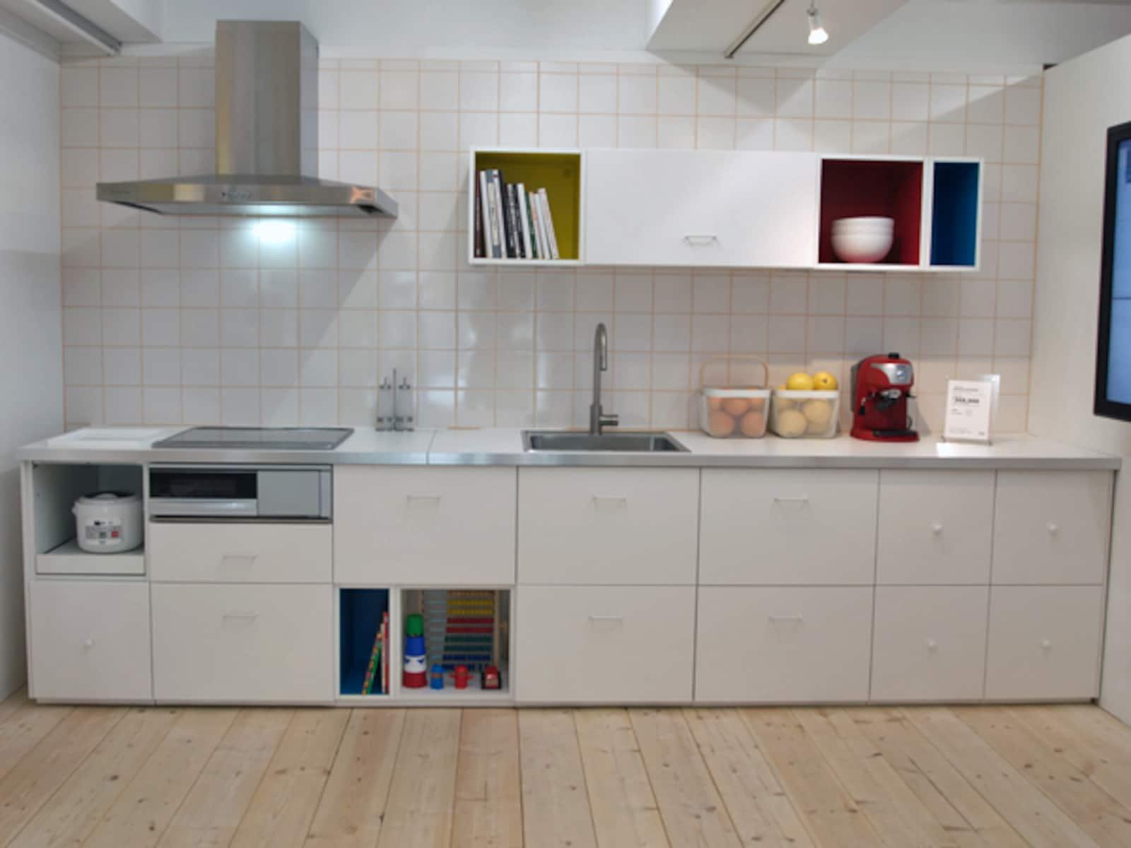 キッチン ikeaキッチン収納 : IKEA収納が日本のキッチンを ...
