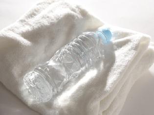 タオル+ペットボトルのお気軽湯たんぽで暖まる