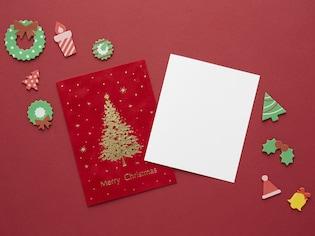 親子で飛び出すクリスマスカードを作ろう!