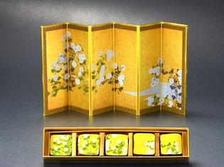 岡田美術館の「光琳菊図屏風」はバレンタインも購入可能!