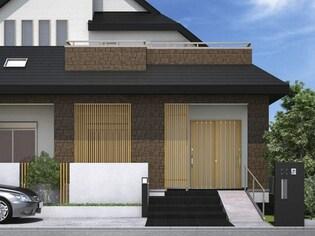 玄関が狭くても広い開口をとることができる、玄関引き戸とは