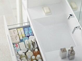 お手入れ楽々&省エネ機能がすごい、最新の洗面化粧台