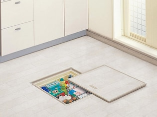 片づけ上手への鍵は、床下収納