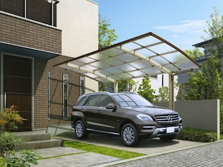雨や鳥のフンから車を守る屋根「カーポート」の種類とデザイン