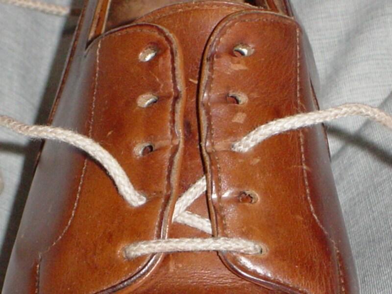 革靴 靴紐 結び方 パラレル