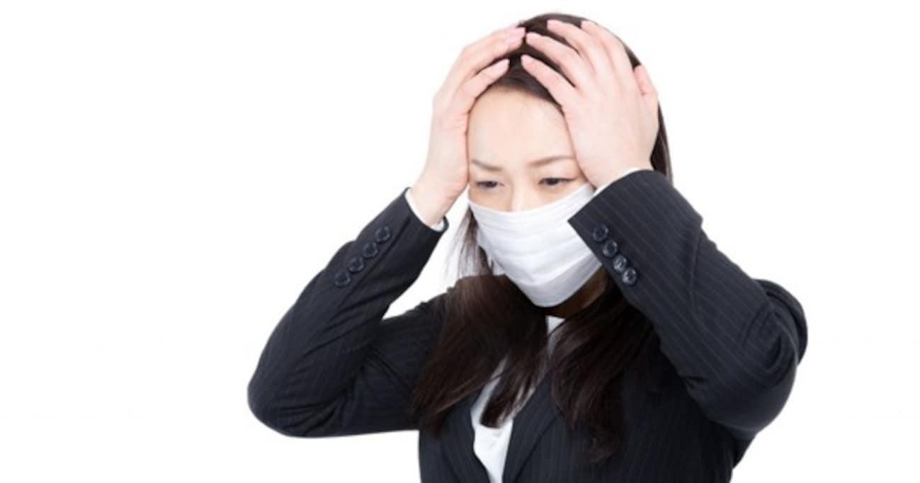 【ビジネスマナーQ&A】インフルエンザかもしれない…というときに、会社に伝えるときのマナー