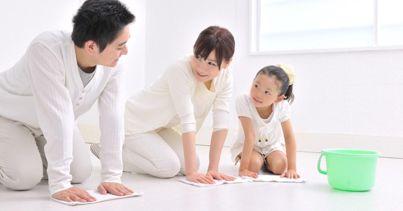 大掃除、いつも戦力外の夫や子どもにしっかり手伝ってもらうためには?