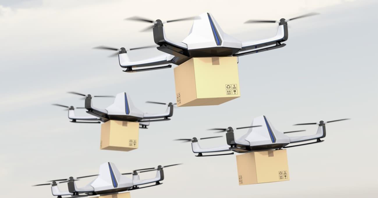 Amazonの「空中倉庫」&「ドローン配達」でネット通販の未来はどうなるか?