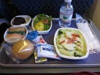 機内食も充実
