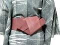 男性の浴衣の着付けと帯結び