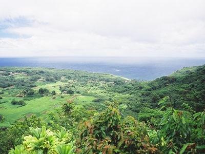 アクセスが困難だかこそ、ハワイ古来の手つかずの自然が残るハナの町