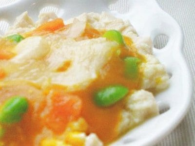 市販冷凍ベビーフードを使った超簡単レシピ