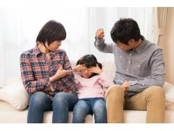 子供を叱る時にやってはいけない!NG叱り方10か条