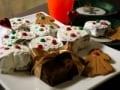 クリスマスツリーのチョコレートケーキ