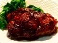 フライパンで簡単! 鶏肉の赤ワインソース