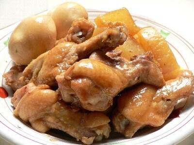 【簡単&時短メニュー!】定番和食レシピ 大根と手羽元の煮物 ...