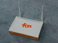 FONの無線LANルータ「FONERA 2.0n」