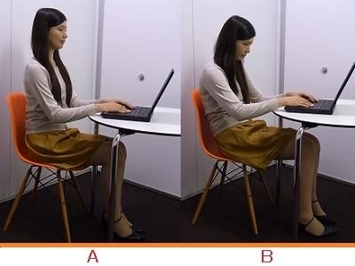 パソコンしている時、あなたはどっち?