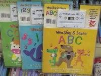 名古屋丸善書店に取材に行ってきました。 大人気!子供英語教材コーナー