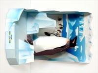 ペンギンのジオラマに調べ学習をプラスしてみよう