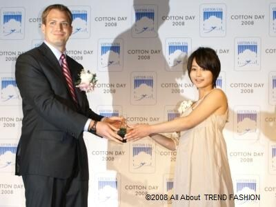 Miss COTTON USAを受賞した堀北真希さん