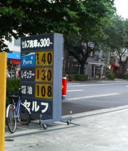 ガソリン節約法No2 セルフスタンド活用術