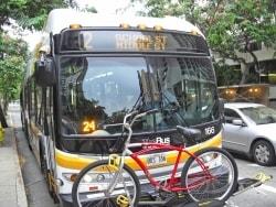 ホノルルの市内交通