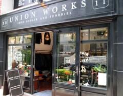 初の路面店、UNION WORKS AOYAMA訪問 美しく強いパーツで、靴修理を!
