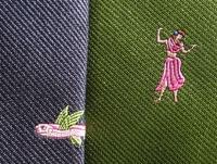 ロバートゴドレーのトロピカルなネクタイ