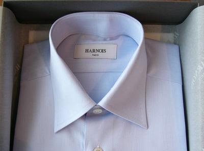 パリの香り。日本メイドのオーダーシャツ