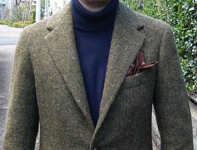 羊屋のツイードジャケットが完成した!