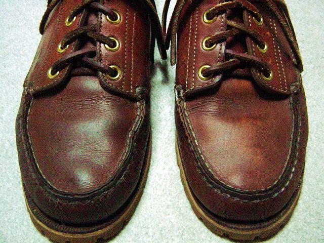 油分が肝心、オイルドレザーの革靴のケア!
