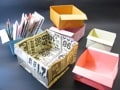 広告チラシの簡単便利な紙箱の作り方