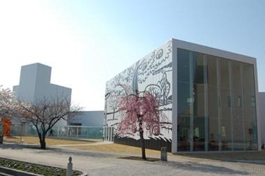 建築とアートが一体化 十和田市現代美術館