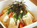 豆腐アボカド丼…cafe croix