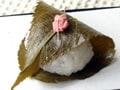電子レンジでつくる「道明寺桜餅」