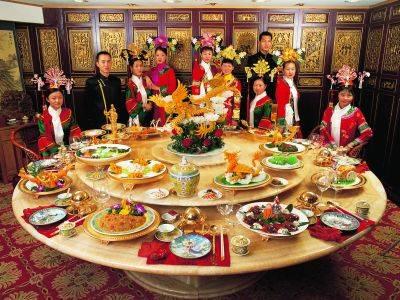満漢全席。いにしえの宮廷文化を味わえる究極の美食。