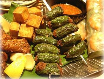 vol.1エスニックごはんでおもてなし ベトナム:牛肉のハーブ包み焼き