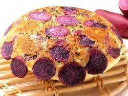 炊飯器で作るベジケーキ!むらさき芋のケーキ