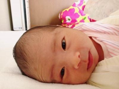 生後1か月の赤ちゃんの成長は?