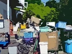 ゴミ屋敷の存在は重要事項説明の対象なの?