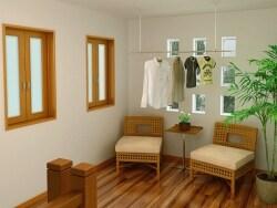 使い勝手がいい室内干しの空間をつくる方法