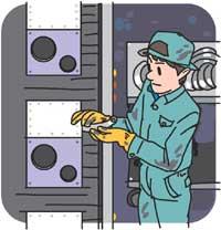 生産管理では作業時間の計測が可能に