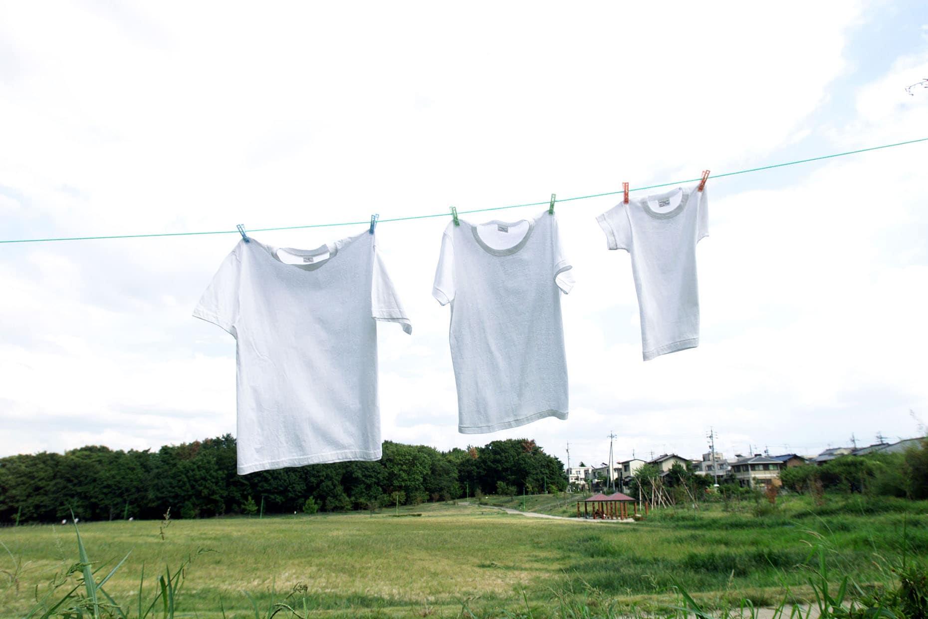 洗濯物に花粉をつけない方法