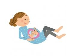 胎動とは?赤ちゃんはお腹の中でどう動いている?