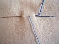返し縫いの仕方