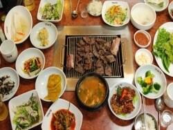 韓国旅行での食費、レストラン・食堂・屋台の予算