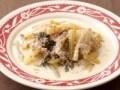 セロリとひき肉の生クリーム煮