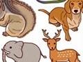 猫・犬など、動物のイラスト素材